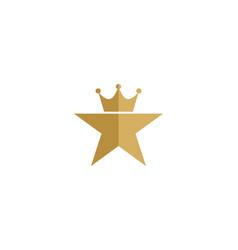 king star logo icon design vector image