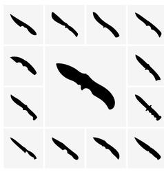 Knives vector image