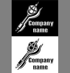 Logo sceptre vector