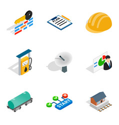 New scheme icons set isometric style vector