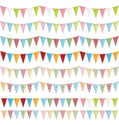 Party bunting vector