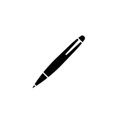 pen icon design template isolated vector image