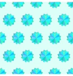 Seamless texture with geometric ornament vector image