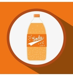 Soda concept design vector image