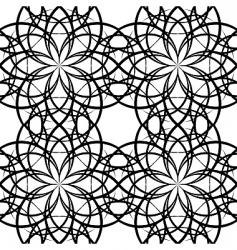 illustration sieamles tile ornate pattern vector image