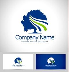 Tree Logo Design Creative vector image vector image