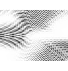 Abstract halftone dotted background monochrome vector