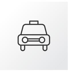 Car vehicle icon symbol premium quality isolated vector