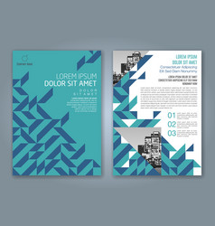Cover annual report 837 vector