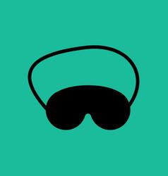 Eye mask vector