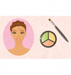 Face concealing vector