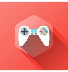 Gamepad symbol design vector