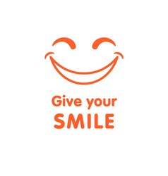 Give your smile vector