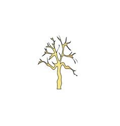 Old Tree computer symbol vector image