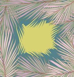PalmLeaves7 vector image