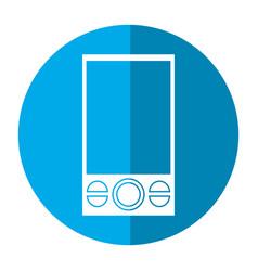smartphone mobile technology communnication image vector image