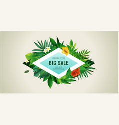 summer sale for mobisale color vector image
