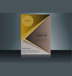 Vertical business card print template personal vector