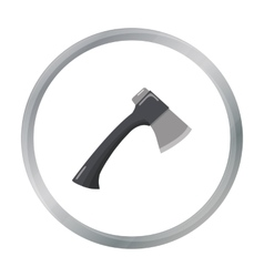 Axe icon of for web and mobile vector image vector image