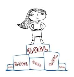 Achieve the goal vector