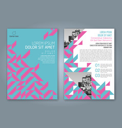 Cover annual report 842 vector