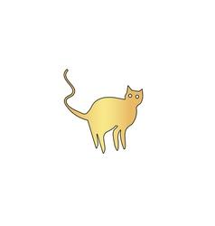 Evil Cat computer symbol vector