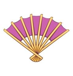 Fan icon cartoon style vector image