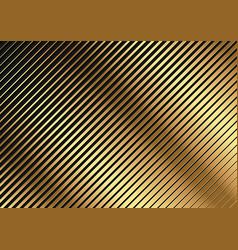 golden diagonal striped pattern vector image
