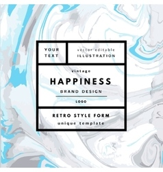 Hipster boho background vector