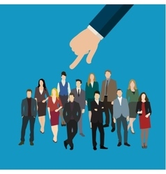 Hiring or recruitment vector