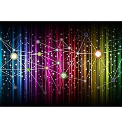 Multicolor net vector