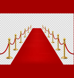 Red carpet grand opening ceremonial vip event vector