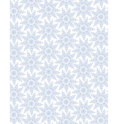snow seamless pattern winter holiday snowflakes vector image