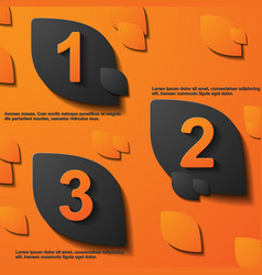 Tag card modern 4 color can use for business vector