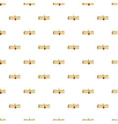 Magic scroll pattern vector