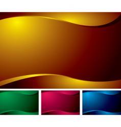 wave variation vector image vector image