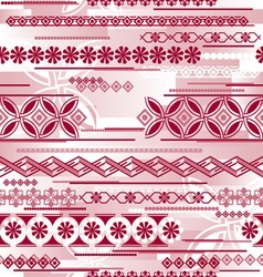 irregular seamless pattern vector image vector image