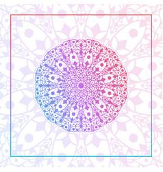 abstract luxury mandala pattern vector image