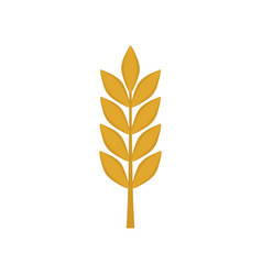 barley icon in flat design vector image