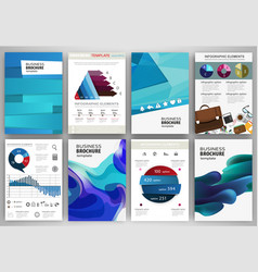 blue backgrounds and abstract concept vector image