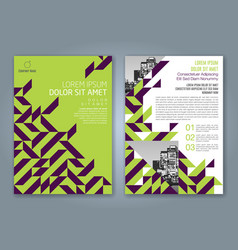 Cover annual report 846 vector