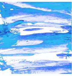 Marina indigo purple turquoise blue watercolor vector