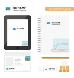 Online shopping business logo tab app diary pvc vector