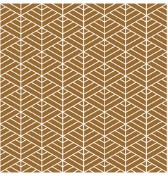 Seamless geometric pattern based on japanese vector