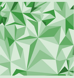 Abstract green pattern of geometric shapes vector