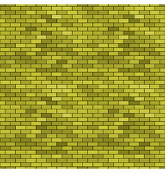 Abstract seamless brick pattern vector image