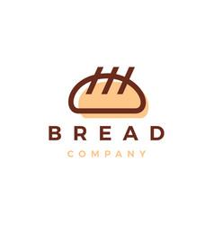 bread bakery logo icon vector image
