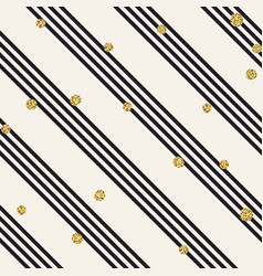 diagonal black lines on white background golden vector image