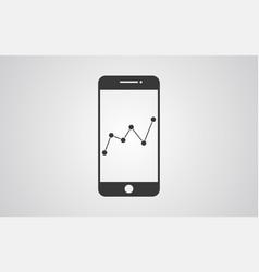 info phone icon sign symbol vector image