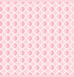 popular abstract pink love european gorgeous oval vector image